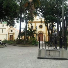 Photo taken at Plaza Bolívar de Naguanagua by Fernando Luis A. on 4/5/2014