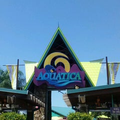 Photo taken at Aquatica Orlando by Mrs. F. on 5/9/2013