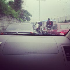 Photo taken at West Service Road by Doods S. on 7/15/2013