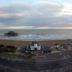 Photo taken at Holiday Inn Brighton - Seafront by Chris M. on 4/12/2013