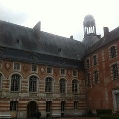 Photo taken at Château de Saint-Fargeau by Vic on 5/9/2013