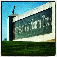 Photo taken at University of North Texas by Alexandria on 3/2/2013