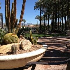 Photo taken at Hyatt Regency Scottsdale Resort and Spa at Gainey Ranch by joye on 3/12/2013