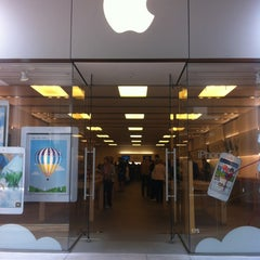 Photo taken at Apple Store, Century City by Liz T. on 5/20/2013