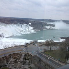 Photo taken at Sheraton on the Falls Hotel by Paul C. on 3/19/2013