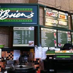 Photo taken at O'Briens Irish Sandwich Bar by Nini Marina on 10/17/2012