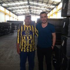 Photo taken at Hakan Sac Metal A.Ş. DAĞYAKA FABRİKA by Ercan B. on 7/25/2013