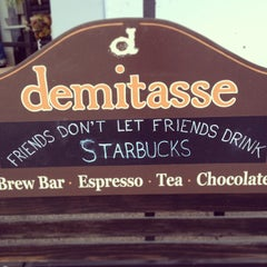 Photo taken at Cafe Demitasse by Nelson L. on 4/10/2013