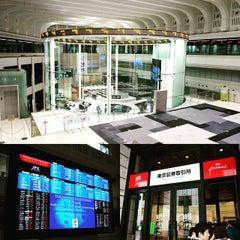 Photo taken at 東京証券取引所 (Tokyo Stock Exchange) by Kevin K. on 5/8/2015