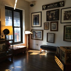 Photo taken at Moscot by Dongwook B. on 6/24/2014