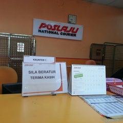 Photo taken at POSLAJU National Courier, Taman Perindustrian Selaman, Bangi by Addin K. on 5/18/2013