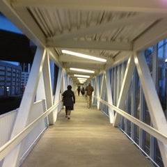 Photo taken at Bridgeport Train Station (BRP) - Metro North & Amtrak by Alex N. on 11/5/2012