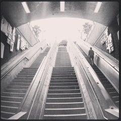 Photo taken at 16th St. Mission BART Station by Timothy P. on 12/19/2012