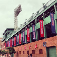 Photo taken at Fenway Park by Morgan H. on 7/13/2013