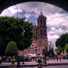 Photo taken at Los Portales de Puebla by Arthur on 6/11/2013