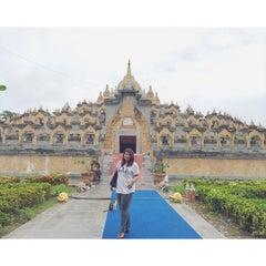 Photo taken at วัดป่ากุง (วัดประชาคมวนาราม) by Aimee P. on 7/26/2015