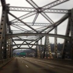 Photo taken at Brent Spence Bridge by Douglas H. on 12/25/2012