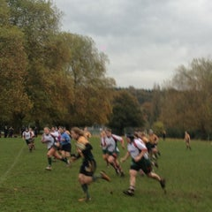 Photo taken at Henley Hawks Rugby Club by Mark H. on 10/28/2012