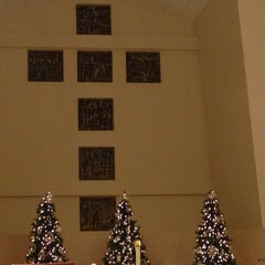 Photo taken at Our Savior Lutheran by Erin on 12/12/2012