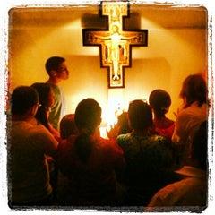 Photo taken at Casa Padre Pio - Obra De Maria by Ivanildo Silva on 2/6/2013