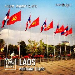 Photo taken at Walking Street By Khong Riverside by TiM T. on 1/16/2013