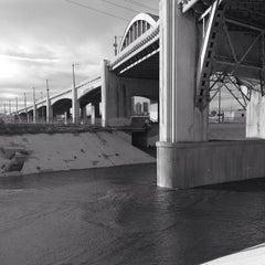 Photo taken at Sixth Street Bridge by Melissa H. on 1/8/2013