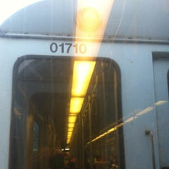 Photo taken at MBTA Red Line by Liss V. on 11/2/2012