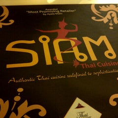Photo taken at Siam Thai Cuisine by Joseph U. on 9/15/2012