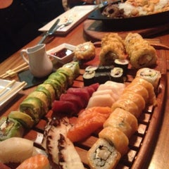 Photo taken at Nigiri Sushi Bar by Daniel on 11/4/2012