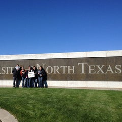 Photo taken at University of North Texas by Brian R. on 1/13/2013