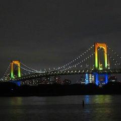 Photo taken at お台場海浜公園 (Odaiba Marine Park) by おかっち on 9/6/2013
