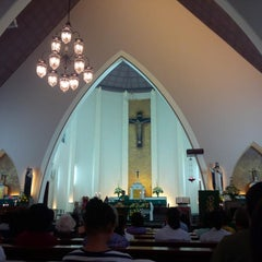 Photo taken at Gereja Katolik Katedral Santa Perawan Maria Dari Gunung Karmel by AGUSTINUS R. on 9/27/2014
