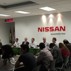 Photo taken at Nissan Mexicana A1 by Beto M. on 3/24/2015