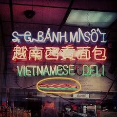 Photo taken at Saigon Vietnamese Sandwich Deli by thechommery on 1/6/2014