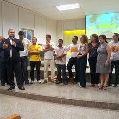 Photo taken at Igreja Presbiteriana da Alvorada by Carlos Henrique R. on 11/17/2013