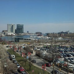 Photo taken at Sheraton Inner Harbor Hotel by Jeff C. on 4/5/2013