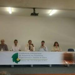Photo taken at Faculdade de Ciências Agrárias - Universidade Federal do Amazonas by Patrick S. on 8/13/2014