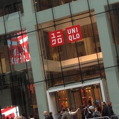 Photo taken at UNIQLO 5th Ave by Alex R. on 11/10/2012