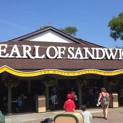 Photo taken at Earl of Sandwich by Scott B. on 4/2/2013