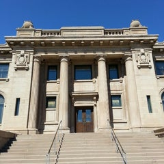 Photo taken at Peter White Public Library by Howard C. on 8/2/2013
