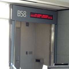 Photo taken at Gate B58 by Dale D. on 10/26/2013