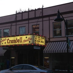 Photo taken at Crandell Theatre by Edward B. on 3/30/2013
