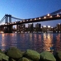 Photo taken at Brooklyn Bridge Park by Amanda on 5/7/2013