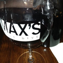 Photo taken at Max's Wine Dive by Kayla on 2/10/2013