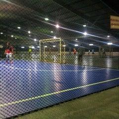 Photo taken at JPS Futsal Ampang by Zakaria W. on 3/5/2014