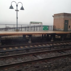 Photo taken at Metro North - Greystone Train Station by Theda S. on 12/8/2012