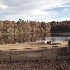 Photo taken at UGA Intramural Fields by George A. on 11/19/2013