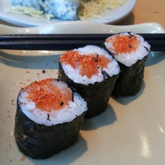 Photo taken at Sushi Tei by Gisela M. on 4/10/2014
