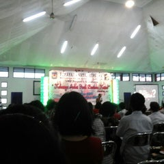 Photo taken at SMP Negeri 1 Surabaya by Rustina Ernawati P. on 1/17/2015