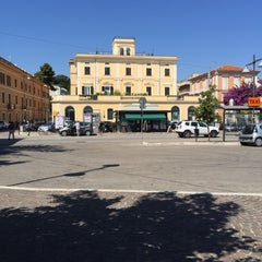 Photo taken at Stazione Giulianova by Pablo B. on 7/1/2015